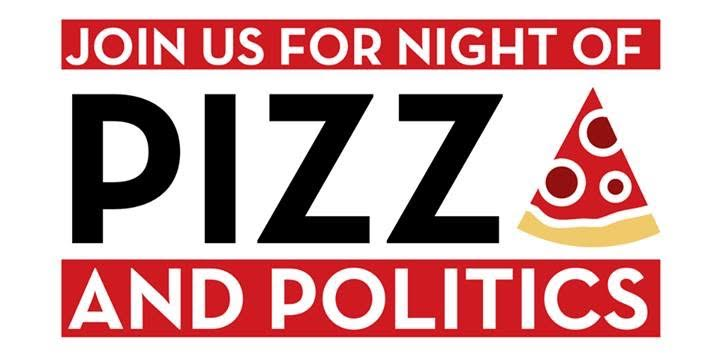Pizza and Politics Banner