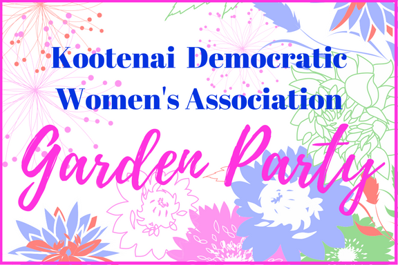 Democratic Women in Bloom at Garden Party
