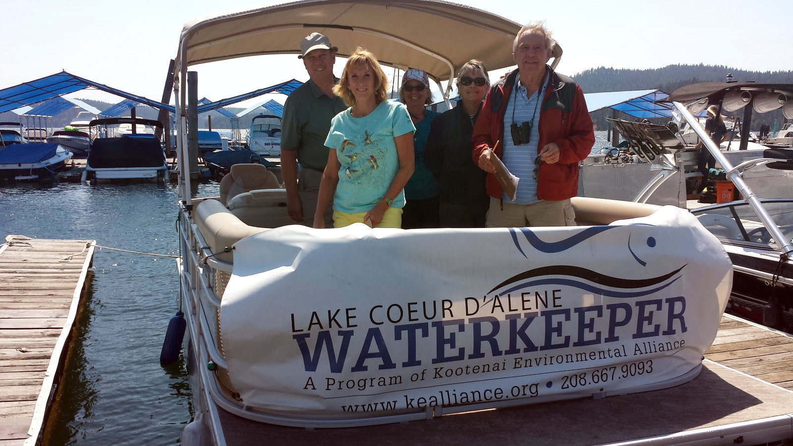 Lake CDA Waterkeeper Hosts Boat Tours