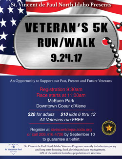 St Vincent De Paul Veterans-Run-2017