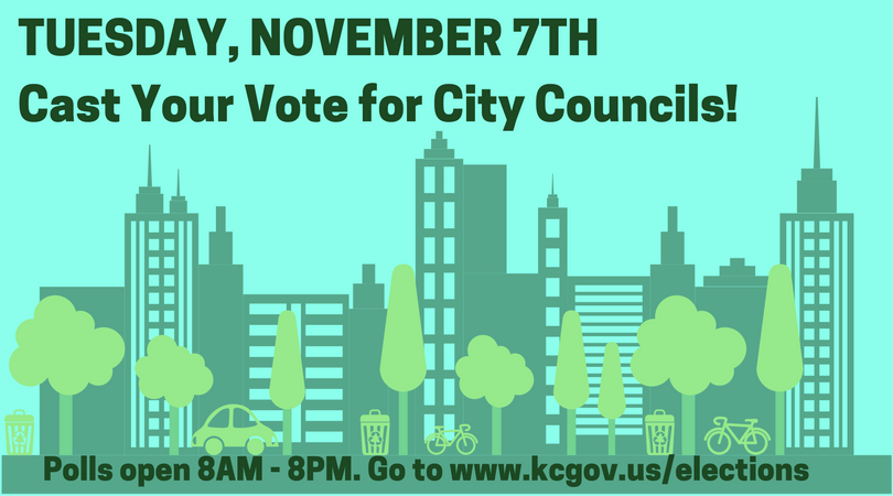 Speak up for Your City Council and Vote!