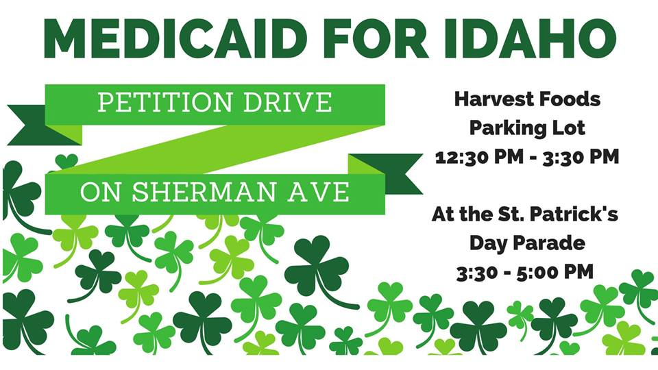 Medicaid Expansion St Patty's Petition Drive