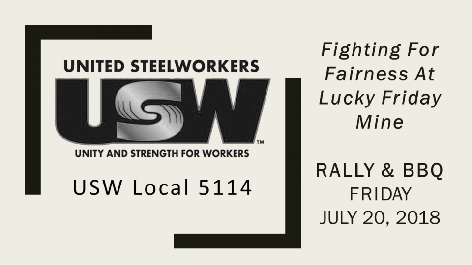 Steelworkers Rally and BBQ