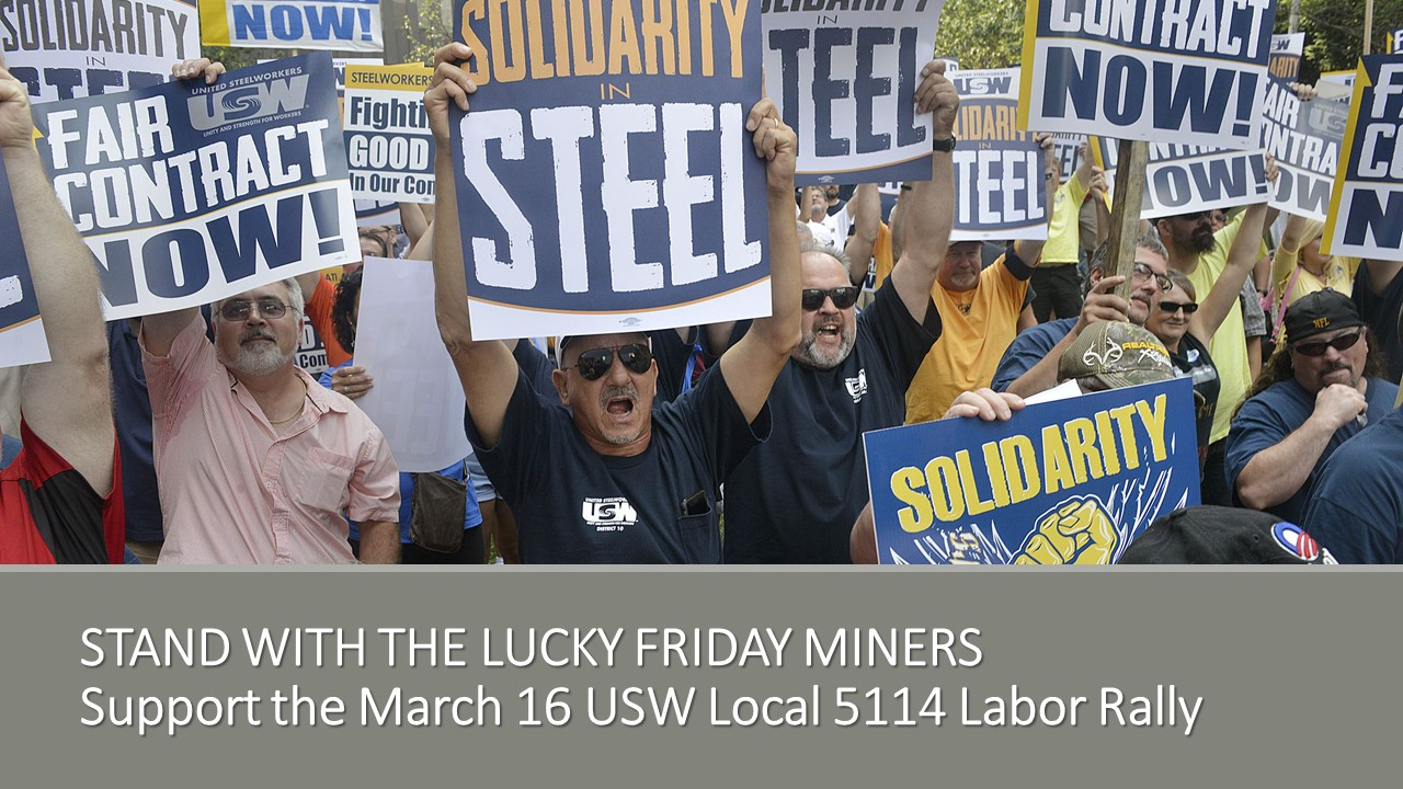 Rally for United Steelworkers