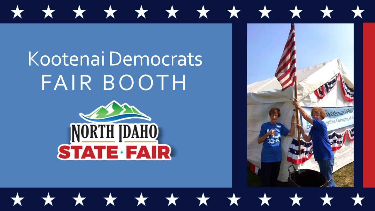 North Idaho State Fair Booth