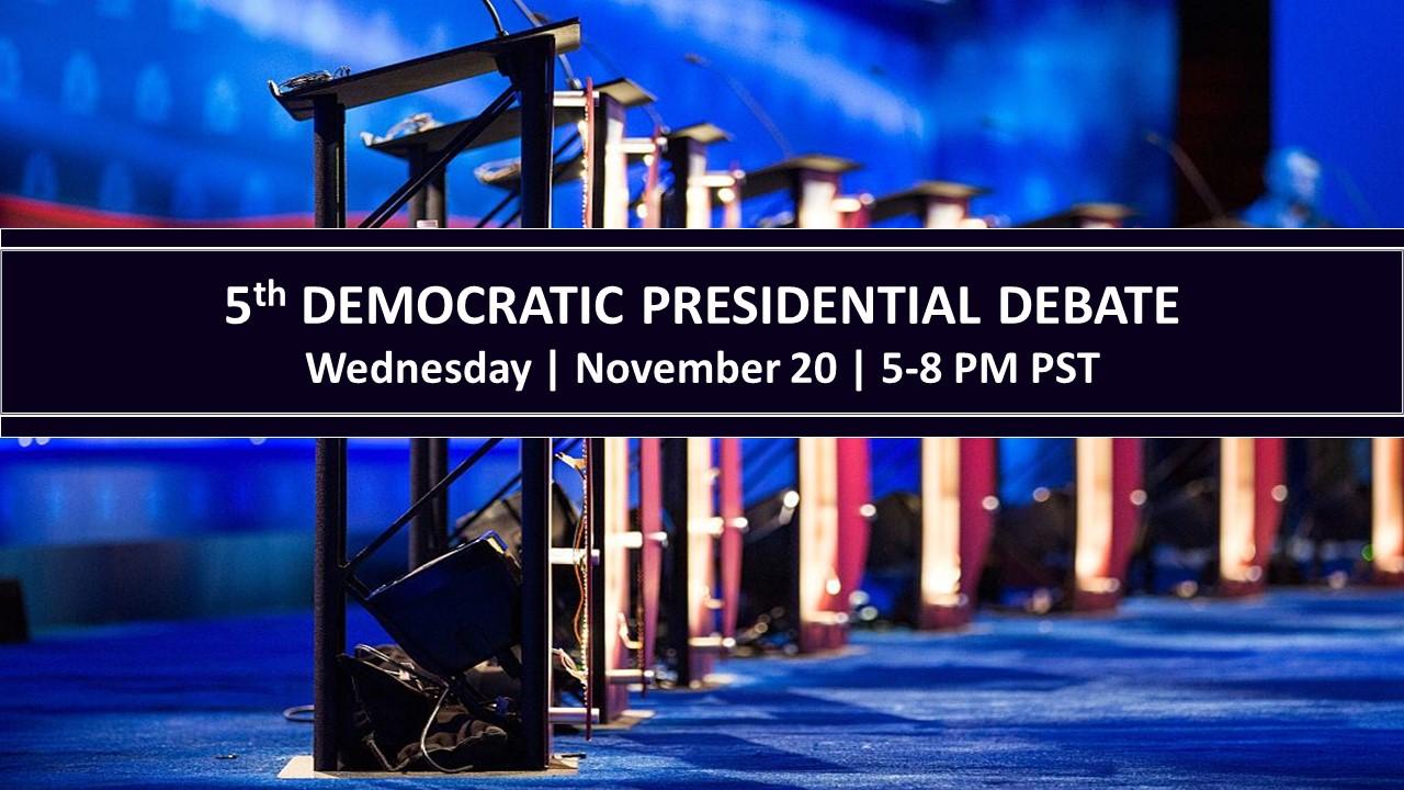 5th Presidential Debate