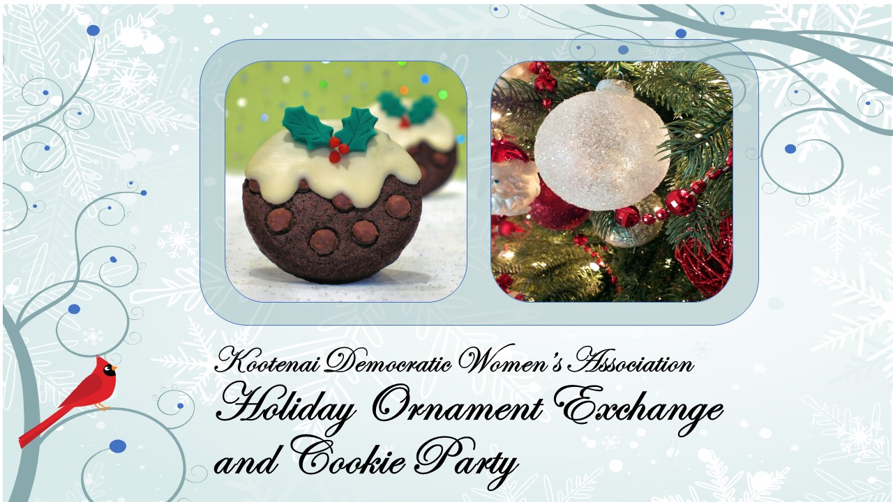 Holiday Ornament Exchange and Cookie Party