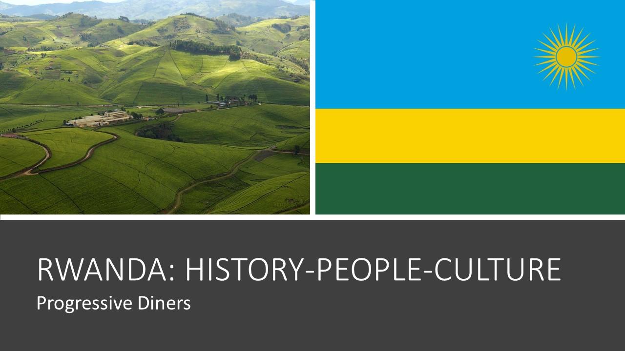 Rwanda History People Culture
