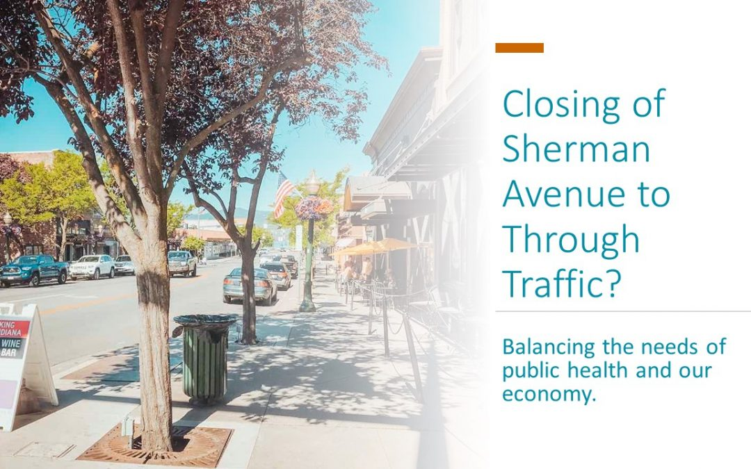 Temporarily Closing Sherman Avenue