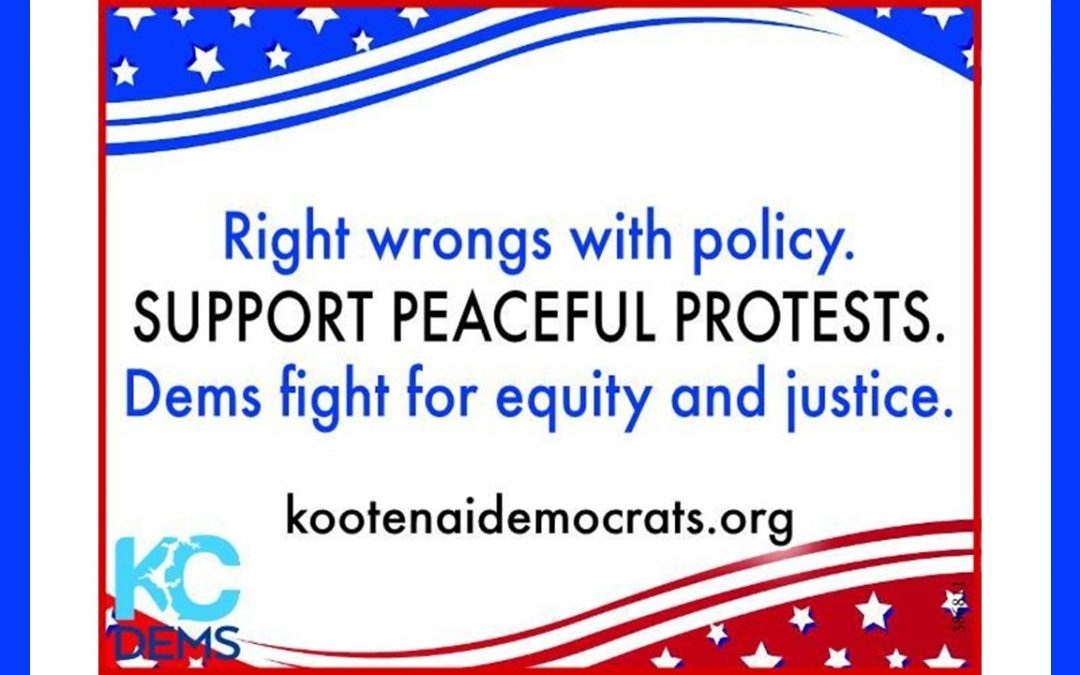 We Stand For Equal Treatment, Equal justice, and Inclusive Democracy