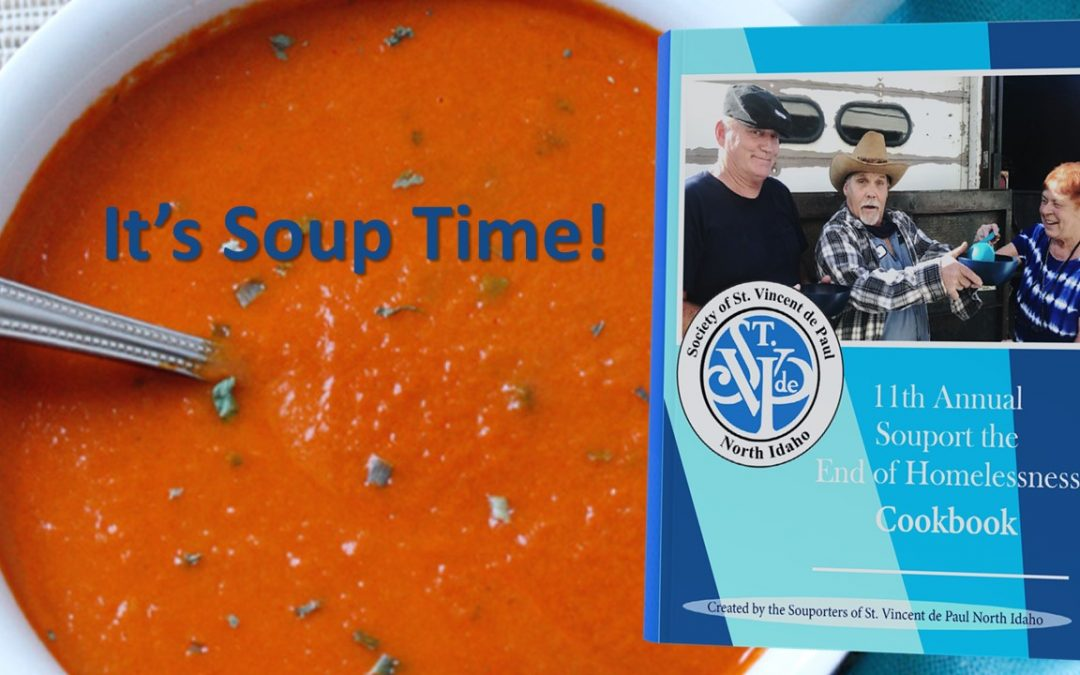 Help St Vinnys Cook Up Souport for the Homeless