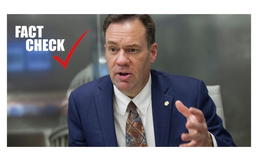 Fact-checking Congressman Russ Fulcher