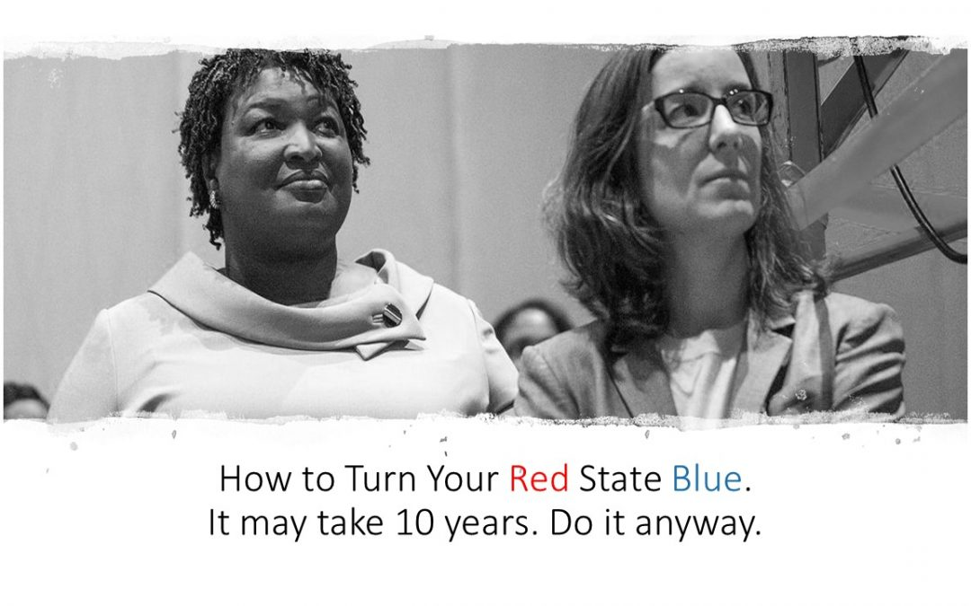 How To Turn Your Red State Blue: Stacey AbramsandLauren Groh-Wargo