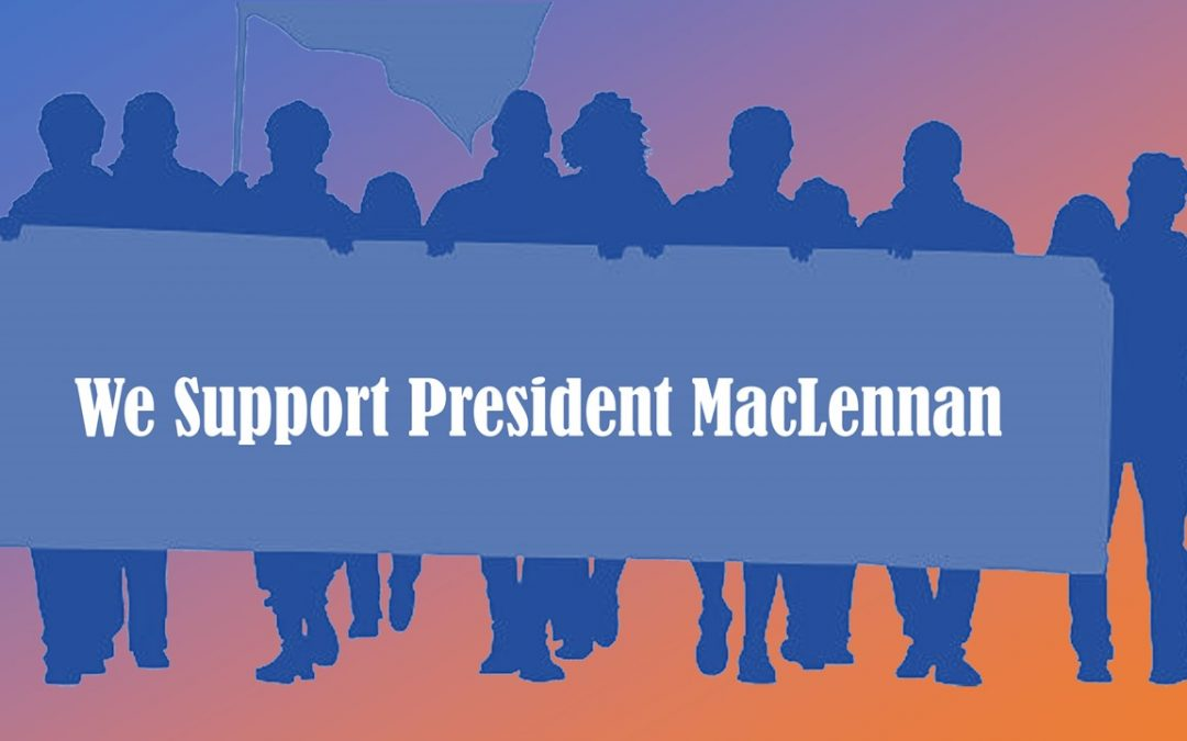 March for Ousted NIC President MacLennan